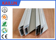 China Aluminium Solar Mounting Structure , 4.0 Mm Glass Standard Module Aluminium Section Profile factory