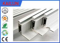 T5 Solar Frames Aluminum Extrusions For 48 Cells Module Screw Joint Traditional Style