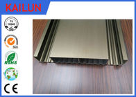 Custom 6063 6061 Interlocking Aluminum Decking Boards , Waterproof Aluminum Plank Decking