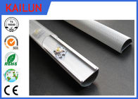 China Half Round LED Strip Aluminium Extrusion Cover Bar With 6063 6061 T8 Material factory