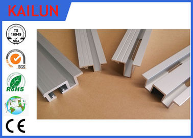 Aluminium Extrusion  Elevator Door Sill Lift Landing Door Parts 55 * 25 mm Size OEM