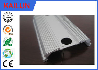 China Anodised Aluminium Flat Bar Extrusion Profiles for 300 Watt Vehicle Amplifier Case distributor