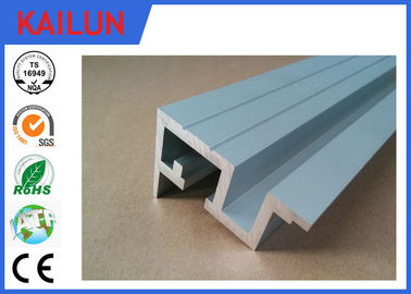 China 6063 Anodized Aluminium Extrusion Elevator Door Sill with 10 - 15 um Coating Thick 1- 7 M Length factory