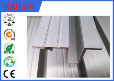 Otis 55 Mm Elevator Aluminum Saddle Threshold , Single - Groove Aluminium Sill Profiles