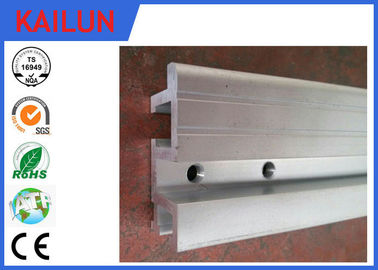 China KONE Brand Aluminum Elevator Door Sill with 12 MM Single - Groove ISO / TS16949:2009 factory