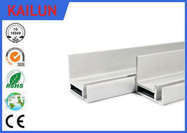 Silver Anodized Aluminum Frames For Solar Panels Mounting Frames 260 Watt 60 Cells 1650 X 992 MM