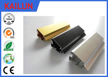 China Aluminium Led Extrusion , Black Anodized Aluminium Advertising Frames ISO / TS16949:2009 distributor