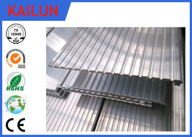 China 6063 T5 Extrusion Waterproof Aluminum Decking Flat Board with Interlocking Groove distributor