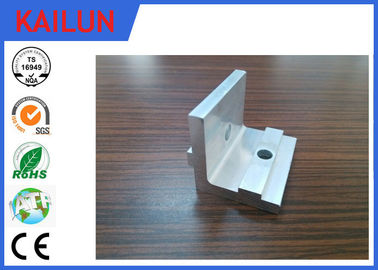 China Mill Finish 90 Deg Anodised Aluminium Angle with Punching Hole for Solar Mounting Bracket Part distributor