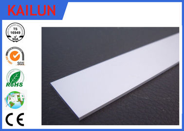 China 50mm Width T5 Aluminium Flat Bar For Home Decoration Extruded Aluminum Parts distributor