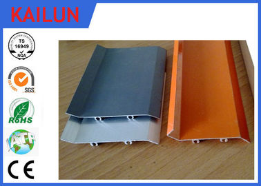 China Powder Coating Waterproof Flat Solid External Aluminium Louvres for Window Frame distributor