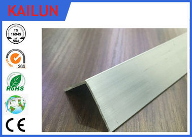 China 90 Degree Silver / Black Anodised Aluminium Angle With 10 - 15 um Coating Thick distributor