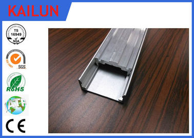China Anodized Matte Treatment LED Aluminium Extrusion Profiles For LED Panel Light distributor