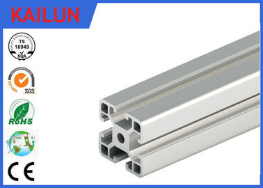 China EN 755 6000 Series T Slot Aluminum Extrusion System for 4040 Box - Section Beam distributor