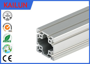 China 40 X 40 MM T Slot Aluminum Extrusion Rails Square Hollow OEM ISO / TS16949:2009 distributor