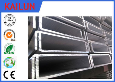 China 6061 T5 Aluminum C Channel Track For Industry Architectural Material Customized Size distributor