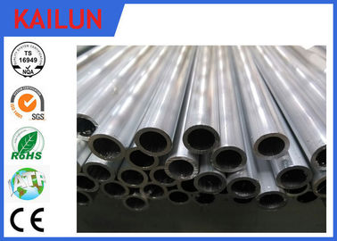China 25mm / 30 mm Cutting Extruded Aluminium Tube With Mill Finish Treatment distributor