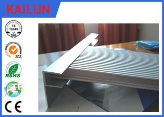 China Construction Extrusions Waterproof Aluminum Decking , Aluminium Skirting Profiles distributor